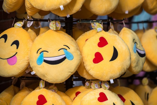 Emojis are so popular that they have become stuffed